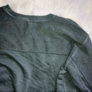 aerie Sweaters - 💕NWT Aerie Forest Green Oversized Crew Sweater
